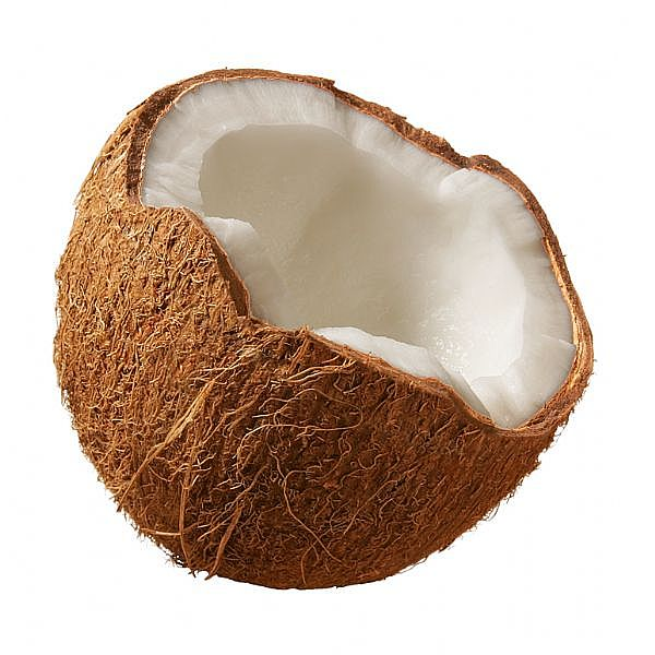 saturated content coconut